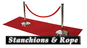 Stanchions & Rope - Products