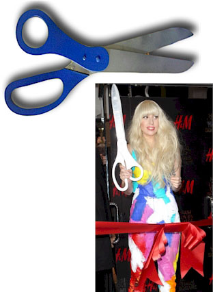 Bargain Custom Painted Scissors