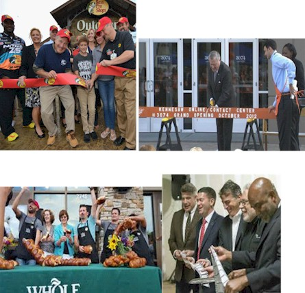 Creative Ribbon Cuttings