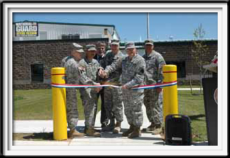 National Guard Ribbon Cutting