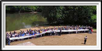 River Ribbon Cutting