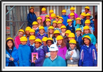 Yellow Children's Hard Hats