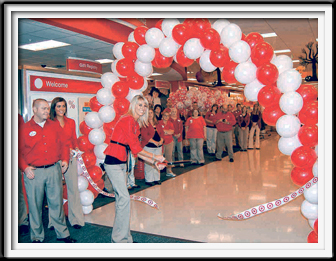 Target Balloon Arch