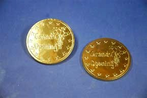 Chocolate Grand Opening Coins