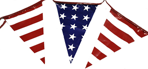 American Stars/Stripes Alternate Jumbo Pennant