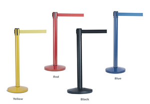 Colored Retractable Belt Stanchions