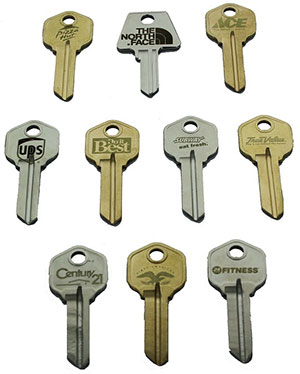 Engraving Logo Keys