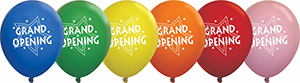 Grand Opening Latex Balloons - Std 11 inch