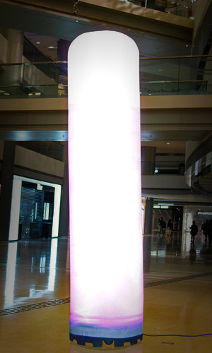 Inflatable LED Pillar - 6 ft Tall