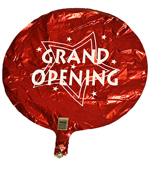 Bargain Red Grand Opening Round Balloon