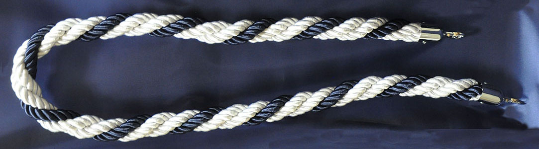 Braided Twisted Stanchion Ropes