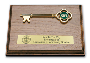 Key Plaque Award