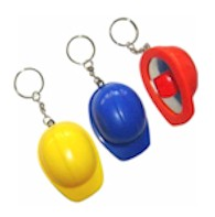 Hard Hat Keychain and Bottle Opener