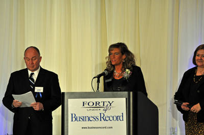Kimberly Baeth announced as Des Moines Forty under Forty Leadership Award Winner