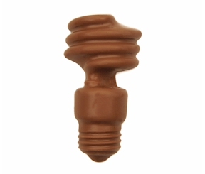 Chocolate Light Bulb