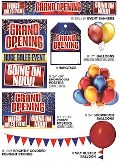 Grand Opening Celebration Ultimate Sales Event Kit