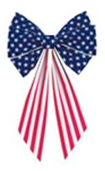 Stars & Stripes 6 Loop Bow