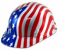 Patriotic Hard Hats