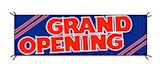 Grand Opening Stripes Kit BANNER