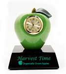Stone Apple Clock