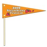Poster Board Pennant with 18