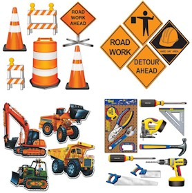Construction Groundbreaking Theme Kits