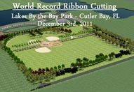 World Record Ribbon Cutting