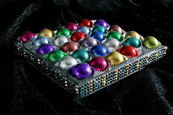 Bedazzled Chocolate Bonbons