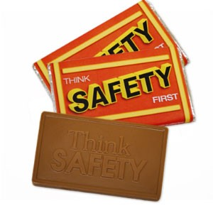 Think Safety Milk Chocolate Bar – Large