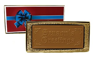 Season's Greetings Chocolate Bar