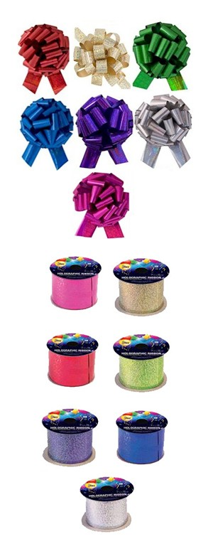 Sparkle Ribbon & Bow Kit