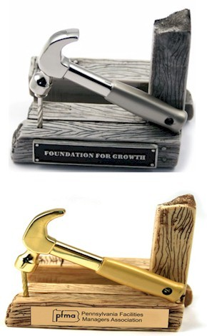 Hammer Business Card Holder