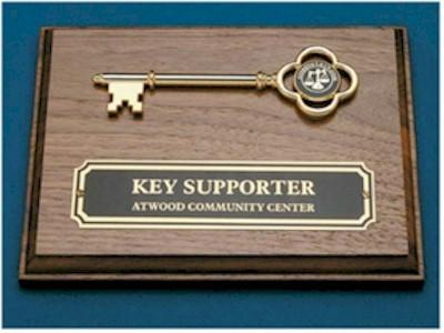 Key Plaque Award