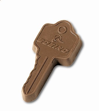 Customizable Chocolate Key
