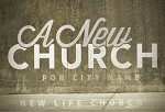 New Church Postcard Invitation and Direct Mailing Kit