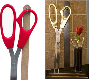 25 Inch Stage Display Stand for Scissors