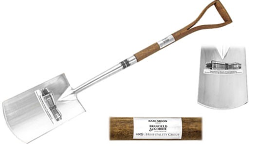 Ash Wood Stainless Steel Shovel