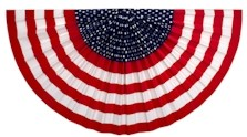 Stars and Stripes Patriotic Bunting (two sizes available)